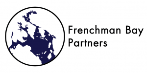 Frenchman Bay Partners logo, white background